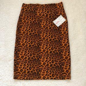 New LuLaroe Cassie Pencil Skirt (S) Leopard Print